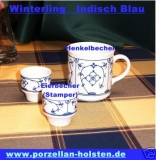 Winterling Indisch Blau Eierbecher Stamper