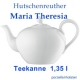 Hutschenreuther Maria Theresia weiß Teekanne 1,35 l 12 Pers.