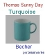 Thomas Sunny Day Turquoise Becher
