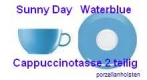Thomas Sunny Day Waterblue Cappuccinotasse 2 teilig