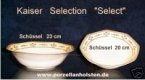 Kaiser Selection Select Schüssel 20 cm