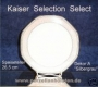 Kaiser Selection Select Speiseteller A silbergrau
